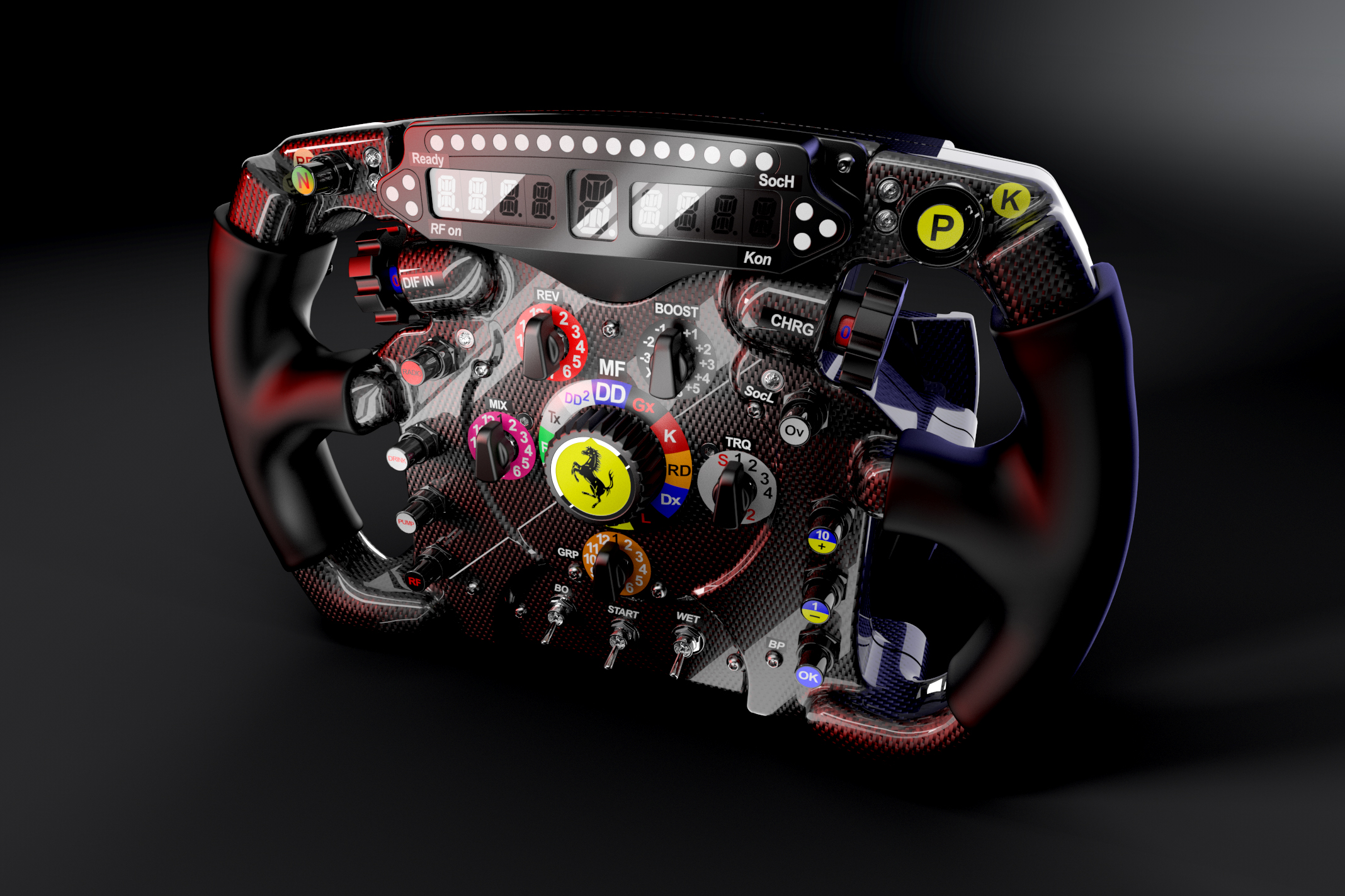 Ferrari F1 2011 Steering Wheel